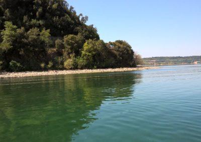 La costa del lago di Bracciano 1 agosto 2017