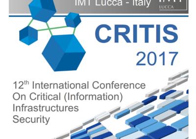 Conferenza internazionale Infrastrutture Critiche