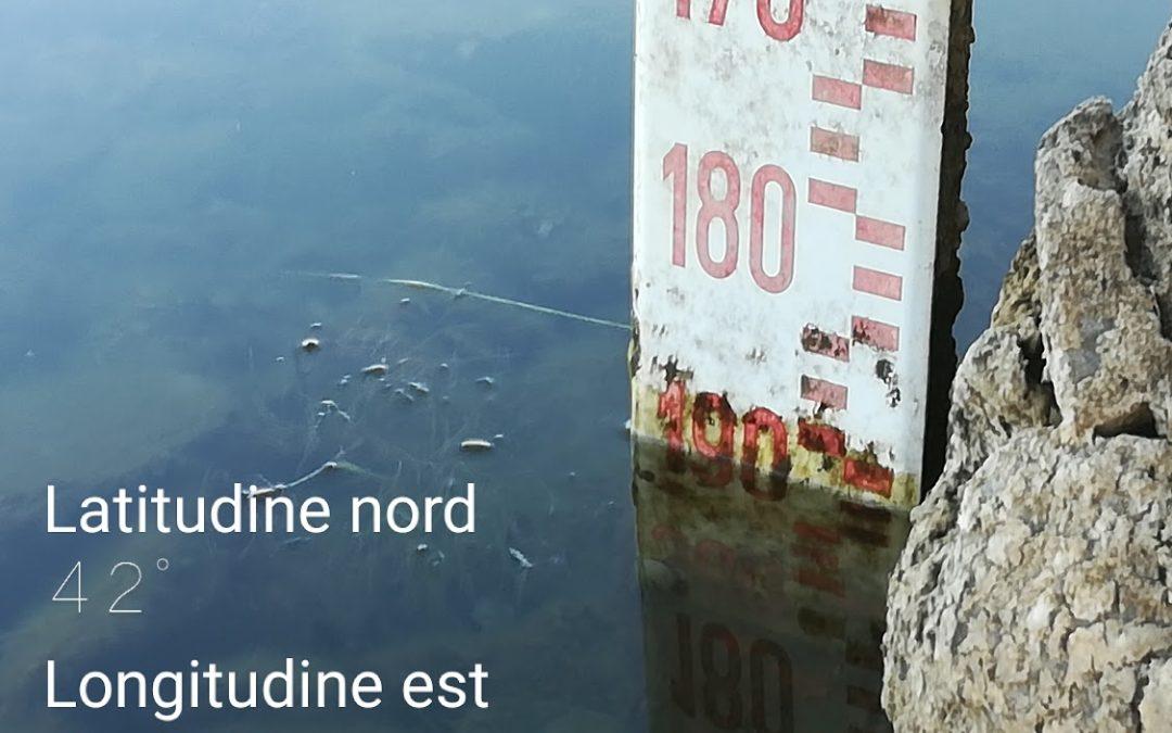 Lago di Bracciano oltre ogni record