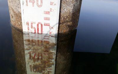 Siamo a meno 148 cm, come nel 2008 quando ci fu il record minimo