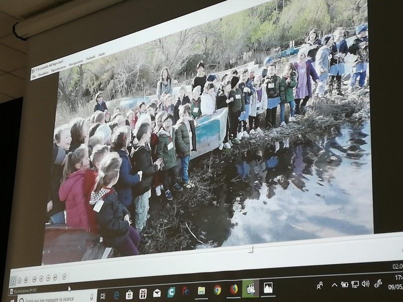 Gli alunni adottano il lago